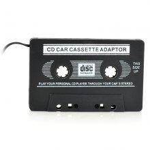 Car Audio Cassette Adapter for MP3/ Cellphones 3.5mm Jack