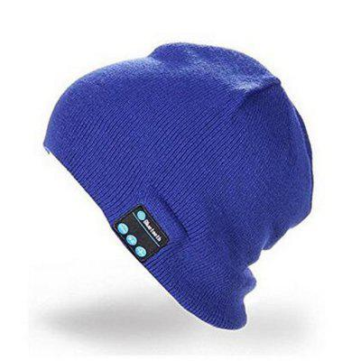 High Quality Warm Hat Wireless Bluetooth Smart Cap Headphone Headset Speaker Mic for iphone Sumsung Cellphone