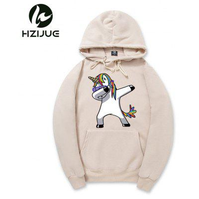 Men Rainbow Horse Print HoodieMens Hoodies &amp; Sweatshirts<br>Men Rainbow Horse Print Hoodie<br><br>Material: Cotton, Polyester<br>Package Contents: 1xHoodie<br>Shirt Length: Regular<br>Sleeve Length: Full<br>Style: Casual<br>Weight: 0.5500kg