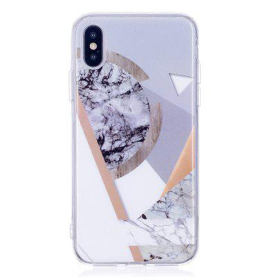 Ultra Thin Marmer Steen Patterned Soft TPU Phone Case voor iPhone X