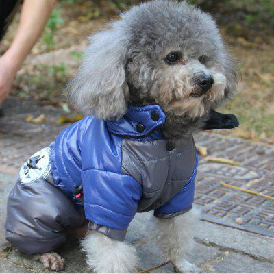 Lovoyager LVC1213 Lovoyager Pet Clothing with Four Legs Winter Dog Coat Jacket with Hood Small jumpsuits