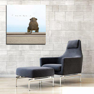 YHHP 1 Panel Hd Print Wall Art Animal Elephants Look SeaPrints<br>YHHP 1 Panel Hd Print Wall Art Animal Elephants Look Sea<br><br>Brand: YHHP<br>Craft: Print<br>Form: One Panel<br>Material: Canvas<br>Package Contents: 1 x Panel of Print<br>Package size (L x W x H): 62.00 x 4.00 x 4.00 cm / 24.41 x 1.57 x 1.57 inches<br>Package weight: 0.2000 kg<br>Painting: Without Inner Frame<br>Product size (L x W x H): 50.00 x 50.00 x 1.00 cm / 19.69 x 19.69 x 0.39 inches<br>Product weight: 0.1000 kg<br>Shape: Square<br>Style: Modern Style<br>Subjects: Animal<br>Suitable Space: Living Room,Bedroom,Office