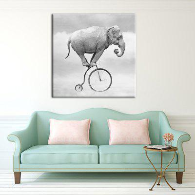 YHHP 1 Panel Hd Print Wall Art Animal Elephant Acrobatic ShowPrints<br>YHHP 1 Panel Hd Print Wall Art Animal Elephant Acrobatic Show<br><br>Brand: YHHP<br>Craft: Print<br>Form: One Panel<br>Material: Canvas<br>Package Contents: 5 x Panel of Print<br>Package size (L x W x H): 62.00 x 4.00 x 4.00 cm / 24.41 x 1.57 x 1.57 inches<br>Package weight: 0.2000 kg<br>Painting: Without Inner Frame<br>Product size (L x W x H): 50.00 x 50.00 x 1.00 cm / 19.69 x 19.69 x 0.39 inches<br>Product weight: 0.1000 kg<br>Shape: Square<br>Style: Modern Style<br>Subjects: Animal<br>Suitable Space: Living Room,Kids Room,Study Room / Office