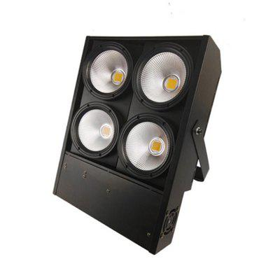 4 LEDs 100W Warm White Blinder Audience Lights Disco Wedding Effect Light