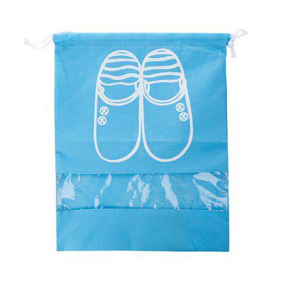 DIHE Drawstring Storage Bag for Shoe Dust Prevention Medium Size