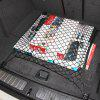 Car Trunk Organizer Boot Luggage Plastic Hook Cargo Storage Elastic Net - BLACK