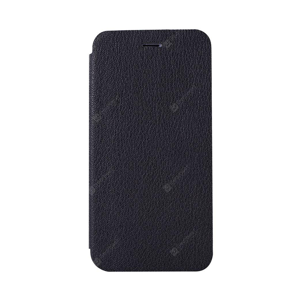 Minismile Fibre Flip Case for XiaoMi 5X with Wallet Stand Holder and Card Slot