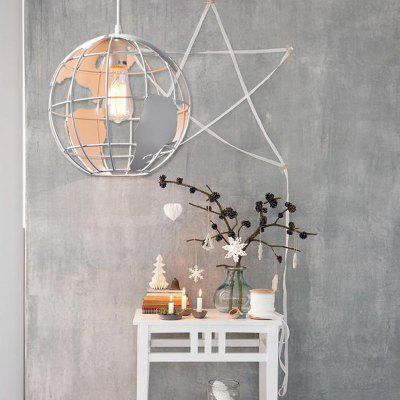 Modern Country Style Pendant lamp Globe Shape for Office Room  Living Dining Room Bedrooms