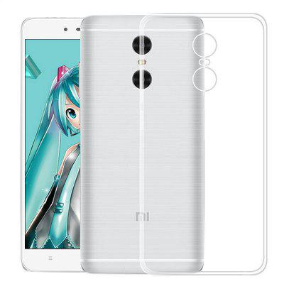 Transparente Soft TPU Clear Cover Phone Case para Xiaomi Redmi Note 4