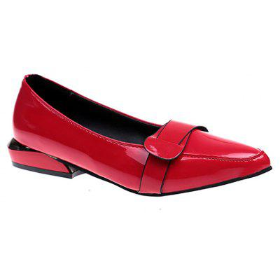 New Flat-soled Non-kid Comfortable Leisure Women'm Single Shoes