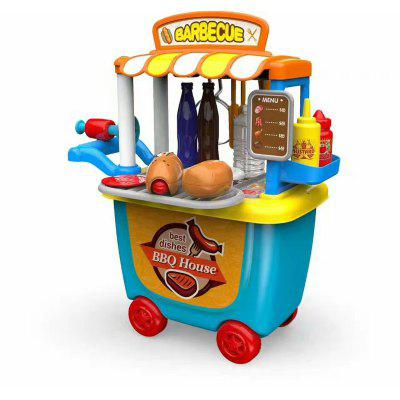 Sowo SW619 children play toy puzzle game toys enlightenment spicy small baked artisan tableware tool cart 249193501