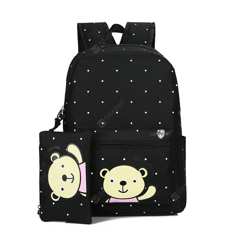 Cute Canvas Campus Fresh Student Backpack