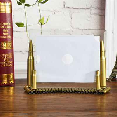The Bullet Shell 7 pollici Foto Creative Iron Ornaments