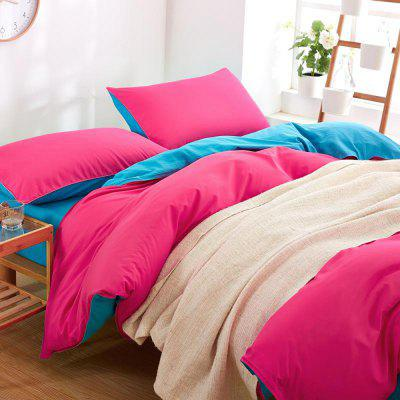New Products Children Three-Piece Sets of Plain Coloured Sheets of Bed LinenBedding Sets<br>New Products Children Three-Piece Sets of Plain Coloured Sheets of Bed Linen<br><br>Package Contents: 1 x Quilt Cover, 1 x Bed Sheet, 1 x Pillowcases<br>Package size (L x W x H): 33.00 x 28.00 x 2.00 cm / 12.99 x 11.02 x 0.79 inches<br>Package weight: 1.1000 kg<br>Product weight: 1.0500 kg<br>Style: Simple / Pure color