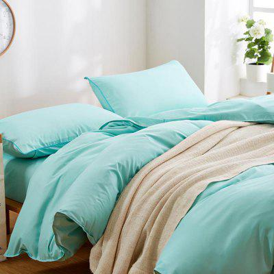 New Product Pure Color Four - Piece Sets of Large Sheets Bedding BeddingBedding Sets<br>New Product Pure Color Four - Piece Sets of Large Sheets Bedding Bedding<br><br>Package Contents: 1 x Quilt Cover, 1 x Bed Sheet, 2 x Pillowcases<br>Package size (L x W x H): 32.00 x 27.00 x 3.00 cm / 12.6 x 10.63 x 1.18 inches<br>Package weight: 1.3000 kg<br>Product weight: 1.2000 kg<br>Style: Simple / Pure color