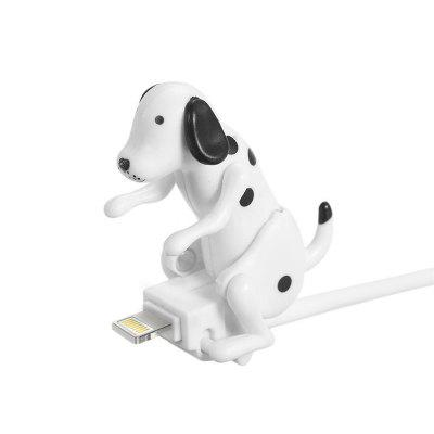Gadget Charger Christmas for iPhone Portable Funny Cute Pet USB Cable Mini Humping Spot Dog Toy