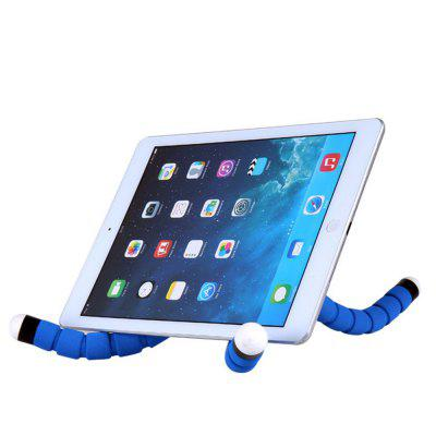 Octopus Sponge Phone Support Mobile Phone Camera Multi-Function General Triangle BracketStands &amp; Holders<br>Octopus Sponge Phone Support Mobile Phone Camera Multi-Function General Triangle Bracket<br><br>Package Contents: 1 x Phone Holder, 1 x Tripod<br>Package size (L x W x H): 25.00 x 6.00 x 4.00 cm / 9.84 x 2.36 x 1.57 inches<br>Package weight: 0.0850 kg<br>Product weight: 0.0680 kg