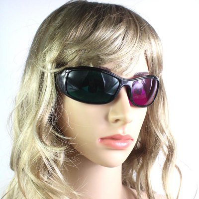 3D Green Purple Sunglasses Fashion Trend Film TV 3D Sunglasses smalto джемпер smalto 53090 голубой