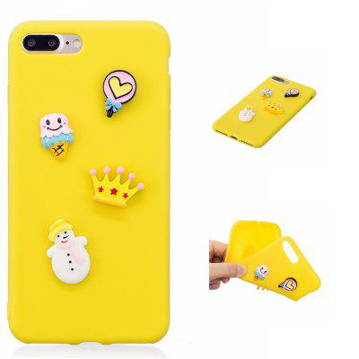 Coque pour iPhone 7 Plus / 8 Plus TPU Lovely Doll Series Soft Shell