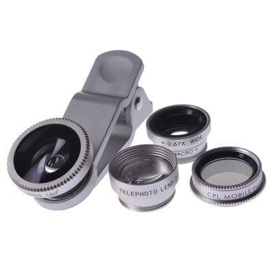 5 in 1 Phone Camera Lenses with phone Camera