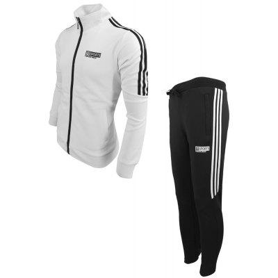 MenS Spring Fashion Casual Sports Outdoor Fitness Stitching Collar Printing Long-Sleeved Jacket Pants Two-Piece SuitSports Clothing<br>MenS Spring Fashion Casual Sports Outdoor Fitness Stitching Collar Printing Long-Sleeved Jacket Pants Two-Piece Suit<br><br>Elasticity: Elastic<br>Material: Polyester<br>Package Contents: 1X Sweatshirt 1x Pants<br>Pattern Type: Solid<br>Weight: 0.4000kg