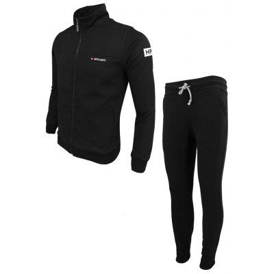 MenS Spring Fashion Casual Sports Outdoor Fitness Stand-Up Printed Long-Sleeved Cardigan Jacket Pants Two-Piece SuitSports Clothing<br>MenS Spring Fashion Casual Sports Outdoor Fitness Stand-Up Printed Long-Sleeved Cardigan Jacket Pants Two-Piece Suit<br><br>Elasticity: Elastic<br>Material: Polyester<br>Package Contents: 1X Sweatshirt 1x Pants<br>Pattern Type: Solid<br>Weight: 0.4000kg