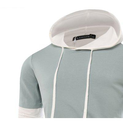 Fashion Color Mosaic Men HoodieMens Hoodies &amp; Sweatshirts<br>Fashion Color Mosaic Men Hoodie<br><br>Fabric Type: Broadcloth<br>Material: Modal<br>Package Contents: 1 X Hoodie<br>Shirt Length: Regular<br>Sleeve Length: Full<br>Style: Casual<br>Weight: 0.3000kg