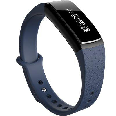 Smart Waterproof Hand Ring Outdoor Men and WomenS Sports Pedometer Heart Rate Sleep Ecg Monitor Phone APP Reminder B13Smart Watches<br>Smart Waterproof Hand Ring Outdoor Men and WomenS Sports Pedometer Heart Rate Sleep Ecg Monitor Phone APP Reminder B13<br><br>Available Color: Black,Red,Deep Blue<br>Band material: Silicone<br>Battery  Capacity: 45mAh<br>Bluetooth Version: Bluetooth 4.0<br>Case material: Acrylic<br>Compatability: android4.4 and above,  iOS 8.0 or above<br>Compatible OS: IOS, Android<br>Functions: Sleep management, Avoid phone loss, Camera remote control, Message, Calories burned measuring, Steps counting, Remote music, Sitting posture reminder, Measurement of heart rate, Message management, Time, Alarm Clock, Date, Pedometer, SMS Reminding, Incoming calls show, Notification of app<br>Language: English,Arabic<br>Operating mode: Touch Screen<br>Package Contents: 1 x Intelligent bracelet, 1 x English and Chinese Instruction, 1 x Charging cable<br>Package size (L x W x H): 14.00 x 8.80 x 3.50 cm / 5.51 x 3.46 x 1.38 inches<br>Package weight: 0.1205 kg<br>People: Male table,Female table<br>Product weight: 0.0206 kg<br>Shape of the dial: Arch