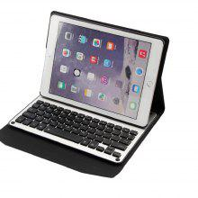 7 Colour Backlit Wireless Bluetooth Keyboard for iPad 10.5 inch 360 Degree Swivel Leather Case Stand Cover