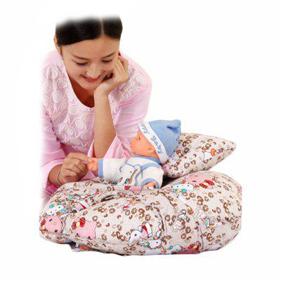 The New U-Shaped Breast Baby Learns To Sit on A Baby Pillow