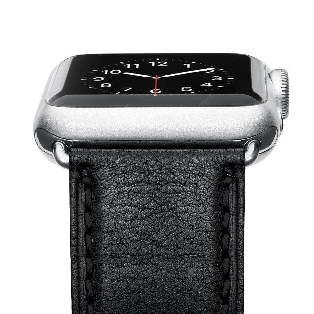 Benuo para Apple Watch 38mm correa de cuero genuino