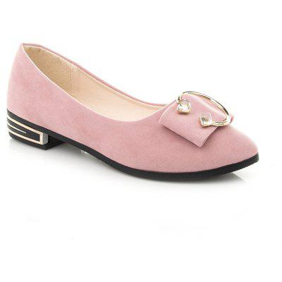 New Low-Heeled Students Casual Shallow Fashion Joker Flat-Bottomed Bean Shoes