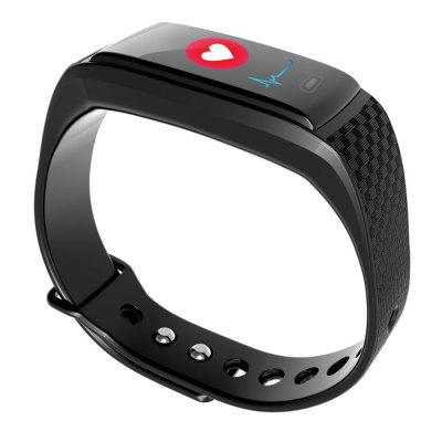Heart Rate Smartband Fitness Tracker Android IOS CompatibleSmart Watches<br>Heart Rate Smartband Fitness Tracker Android IOS Compatible<br><br>Available Color: Black<br>Band material: Silicone<br>Battery  Capacity: 85mAh<br>Bluetooth Version: Bluetooth 4.0<br>Case material: Plastic<br>Charging Time: About 60mins<br>Compatability: Android iOS Compatible<br>Compatible OS: IOS, Android<br>Functions: Measurement of heart rate, Avoid phone loss, Notification of app, Find your phone, Camera remote control, Call reminder, Calories burned measuring, Steps counting, Incoming calls show, SMS Reminding, Pedometer, Date, Alarm Clock<br>IP rating: IP67<br>Language: English,French,Spanish,Portuguese,Russian,German,Italian,Dutch,Japanese,Itanlian<br>Operating mode: Touch Screen<br>Package Contents: 1 x smart band<br>Package size (L x W x H): 15.00 x 6.00 x 3.50 cm / 5.91 x 2.36 x 1.38 inches<br>Package weight: 0.1850 kg<br>People: Male table,Female table<br>Product size (L x W x H): 23.50 x 1.20 x 2.00 cm / 9.25 x 0.47 x 0.79 inches<br>Product weight: 0.0192 kg<br>Screen type: OLED<br>Shape of the dial: Arch<br>Standby time: 15days<br>Waterproof: Yes