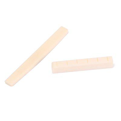 Professional Durable Buffalo Bone Bridge Nut Saddle for Classical Guitar Parts Portable long beigeGuitar Parts<br>Professional Durable Buffalo Bone Bridge Nut Saddle for Classical Guitar Parts Portable long beige<br><br>Materials: Bone<br>Package Contents: 1 x Bone nut ,1 x Bone saddle<br>Package size: 9.00 x 7.00 x 1.00 cm / 3.54 x 2.76 x 0.39 inches<br>Package weight: 0.0063 kg<br>Product size: 8.00 x 0.30 x 0.90 cm / 3.15 x 0.12 x 0.35 inches<br>Suitable for: Guitar, Electric Guitar, Bass Guitar<br>Type: Other