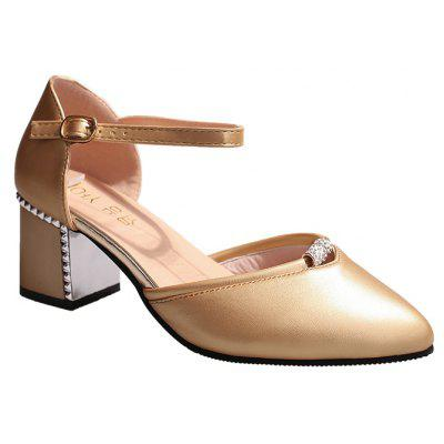 Imple Fashion Metal Thick with Sandals