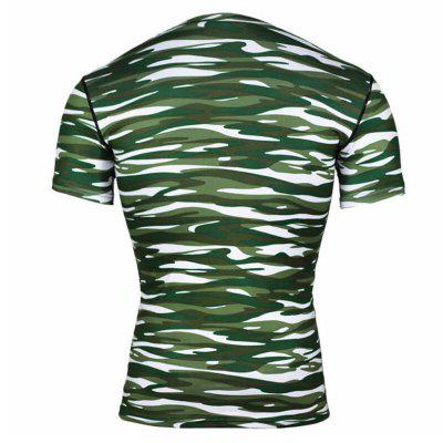 Mens Short Sleeve T-Shirt Polyester Casual  Formal  Sport  Plus Sizes PrintMens T-shirts<br>Mens Short Sleeve T-Shirt Polyester Casual  Formal  Sport  Plus Sizes Print<br><br>Collar: Round Neck<br>Material: Polyester<br>Package Contents: 1  X T-Shirt<br>Pattern Type: Leopard<br>Sleeve Length: Short Sleeves<br>Style: Active<br>Weight: 0.1800kg