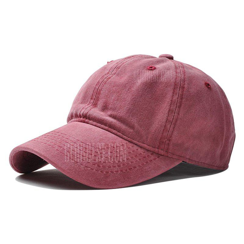 Brand Fashion Women Baseball Cap Men Snapback Caps Casquette Bone Hats Men Solid Casual Plain Flat Gorras Blank Hat WINE RED