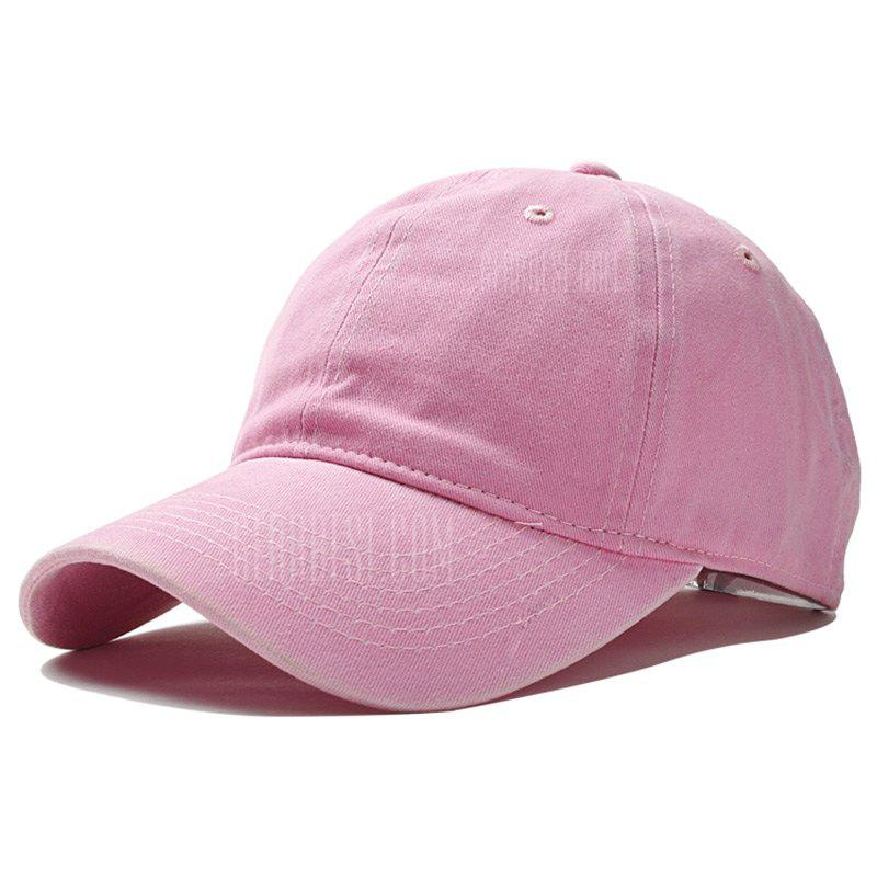 Brand Fashion Women Baseball Cap Men Snapback Caps Casquette Bone Hats Men Solid Casual Plain Flat Gorras Blank Hat PINK