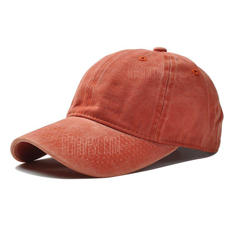 Brand Fashion Women Baseball Cap Men Snapback Caps Casquette Bone Hats Men Solid Casual Plain Flat Gorras Blank Hat ORANGE
