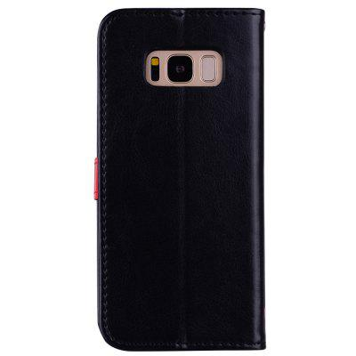 For Samsung Galaxy S8 Covers The Cover of Mobile Phone Wallet and Phone SleeveFor Samsung Galaxy S8 Covers The Cover of Mobile Phone Wallet and Phone Sleeve<br><br>Color: Black,White,Blue,Gray,Wine red,Rose Madder<br>Compatible with: Samsung Galaxy S8<br>Features: Anti-knock, Full Body Cases, Cases with Stand, With Credit Card Holder, Dirt-resistant<br>For: Samsung Mobile Phone<br>Material: PU Leather, TPU<br>Package Contents: 1 x Phone Case<br>Package size (L x W x H): 15.00 x 7.50 x 1.50 cm / 5.91 x 2.95 x 0.59 inches<br>Package weight: 0.0500 kg<br>Style: Fashion, Novelty, Beautiful Girl, Colorful, Special Design, Funny, Contrast Color, Cute, Sweet