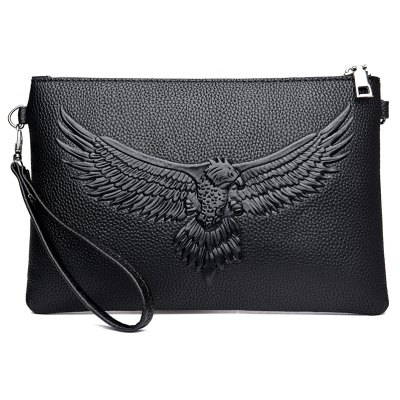 Mens clutch bag large-capacity business casual clutch bag trendy fashion envelope bagCrossbody Bags<br>Mens clutch bag large-capacity business casual clutch bag trendy fashion envelope bag<br><br>Closure Type: Zipper<br>External Material: PU<br>Gender: Unisex,For Women,For Men<br>Handbag Type: Day Clutches<br>Internal Material: Dacron<br>Package Contents: 1xhandbag<br>Package size (L x W x H): 28.00 x 2.00 x 18.00 cm / 11.02 x 0.79 x 7.09 inches<br>Package weight: 0.4000 kg<br>Pattern Type: Animal Prints<br>Product size (L x W x H): 26.00 x 1.00 x 17.00 cm / 10.24 x 0.39 x 6.69 inches<br>Product weight: 0.3000 kg<br>Style: Casual