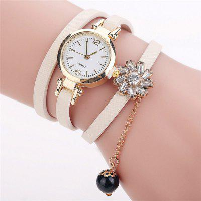 Foreign trade hot sales simple and thin belt lady around the bracelet table crystal diamond