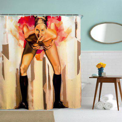 Cigar Girl Polyester Shower Curtain Bathroom Curtain High Definition 3D Printing Water-Proof Anti-Mold Multiple SizesOther Bathroom Accessories<br>Cigar Girl Polyester Shower Curtain Bathroom Curtain High Definition 3D Printing Water-Proof Anti-Mold Multiple Sizes<br><br>Package Contents: 1 x Shower Curtain<br>Package size (L x W x H): 26.00 x 18.00 x 3.00 cm / 10.24 x 7.09 x 1.18 inches<br>Package weight: 0.4500 kg