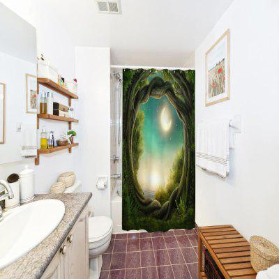 Fantasy Forest Polyester Shower Curtain Bathroom Curtain High Definition 3D Printing Water-ProofOther Bathroom Accessories<br>Fantasy Forest Polyester Shower Curtain Bathroom Curtain High Definition 3D Printing Water-Proof<br><br>Package Contents: 1 x Shower Curtain<br>Package size (L x W x H): 26.00 x 18.00 x 3.00 cm / 10.24 x 7.09 x 1.18 inches<br>Package weight: 0.3500 kg