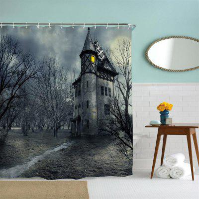 A Mysterious Castle Polyester Shower Curtain Bathroom Curtain High Definition 3D Printing Water-ProofOther Bathroom Accessories<br>A Mysterious Castle Polyester Shower Curtain Bathroom Curtain High Definition 3D Printing Water-Proof<br><br>Package Contents: 1 x Shower Curtain<br>Package size (L x W x H): 26.00 x 18.00 x 3.00 cm / 10.24 x 7.09 x 1.18 inches<br>Package weight: 0.4500 kg