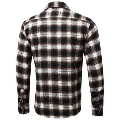 Brand MenS Plaid Shirt Male Warm Long Sleeve ShirtMens Shirts<br>Brand MenS Plaid Shirt Male Warm Long Sleeve Shirt<br><br>Collar: Turn-down Collar<br>Fabric Type: Flannel<br>Material: Cotton<br>Package Contents: 1XShirt<br>Shirts Type: Casual Shirts<br>Sleeve Length: Full<br>Weight: 0.3500kg