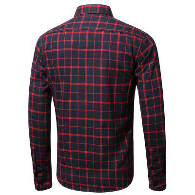 Plaid Shirt Design MenS 100% Cotton ShirtMens Shirts<br>Plaid Shirt Design MenS 100% Cotton Shirt<br><br>Collar: Turn-down Collar<br>Fabric Type: Flannel<br>Material: Cotton<br>Package Contents: 1XShirt<br>Shirts Type: Casual Shirts<br>Sleeve Length: Full<br>Weight: 0.3400kg