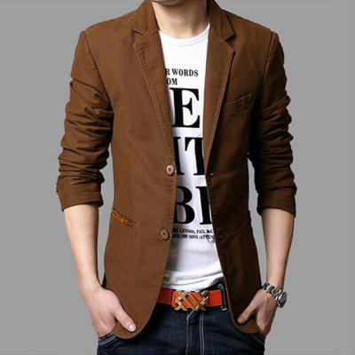 MenS Casual Full Cotton Blazers Male Blazers Single BreastedMens Blazers<br>MenS Casual Full Cotton Blazers Male Blazers Single Breasted<br><br>Closure Type: Single Breasted<br>Clothing Length: Regular<br>Embellishment: Pockets<br>Fit Type: Skinny<br>Front Style: Flat<br>Hooded: No<br>Material: Cotton<br>Package Contents: 1XBlazer<br>Package size (L x W x H): 1.00 x 1.00 x 1.00 cm / 0.39 x 0.39 x 0.39 inches<br>Package weight: 0.6300 kg<br>Pattern Type: Solid<br>Product weight: 0.6200 kg<br>Sleeve Length: Full<br>Type: Suits