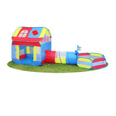 3 in 1 kids tent and tunnel combo