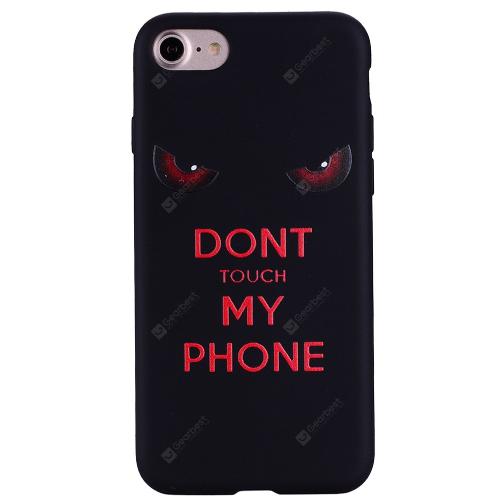 Coque Pour Iphone 8 Red Eye TPU Téléphone Protection Shell